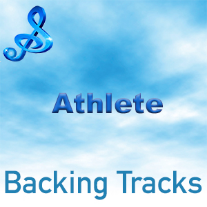 text athlete backing tracks