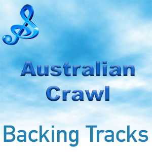 australian crawl backing tracks text