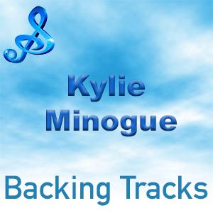 kylie minogue backing tracks