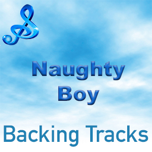 text naughty boy backing tracks