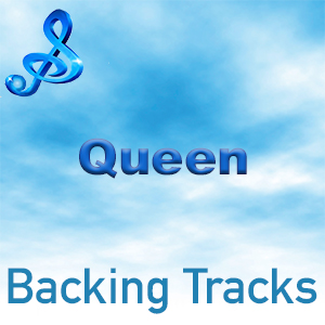 Queen music backing track