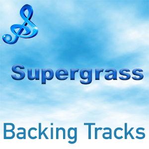 text backing tracks supergrass