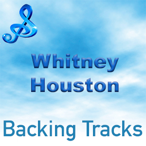 text whitney houston backing tracks